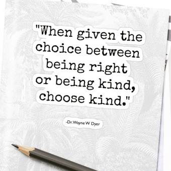Image result for when you have the choice to be right or kind