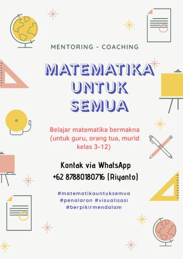 Flyer Pendampingan Belajar Matematika Bermakna